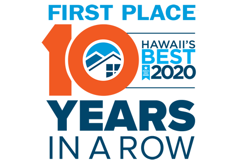 Voted Hawaii's best!