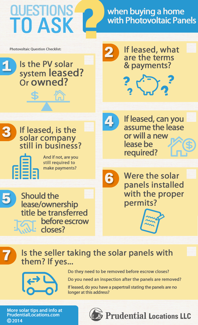 Considering a solar photovoltaic system in hawaii 7 Questions when buying a house